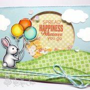 Hello spring bunny - Deborah