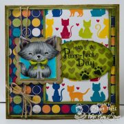 Purrfect Day Wide Cat - Melanie