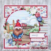 Whimsical Gnomes Boy - Jasmine