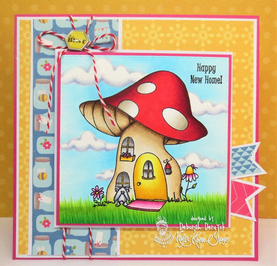 Happy New Home - Kraftin Kimmie Stamps