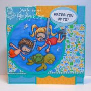 Keep Swimming Lucas and Lulu - Danielle