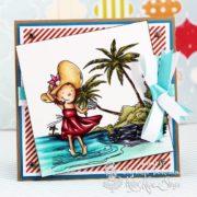 At the Beach - Stephanie