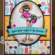Sandy Toes Beachball - Jenny