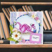 Book Dragon - Jasmine