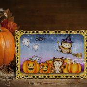 Happy Owloween - Jasmine