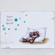 Buddy Bear Pillow - Jasmine