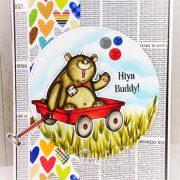 Buddy Bear Wagon - Martha