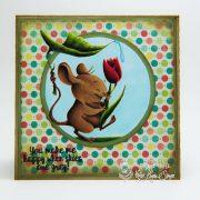 Puddle Pals Mouse - Melanie